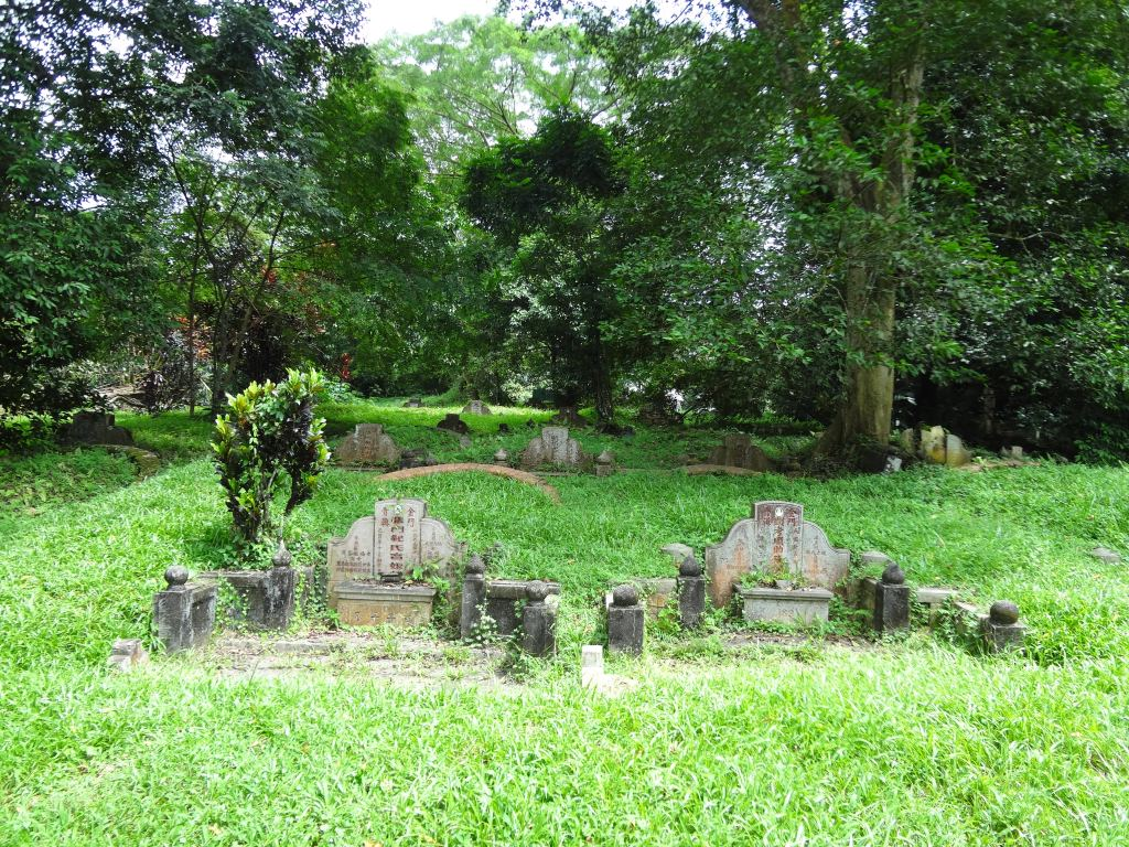 The graves of Bukit Brown