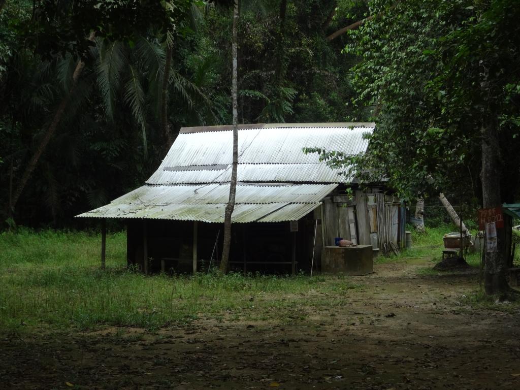 An eerie kampong house