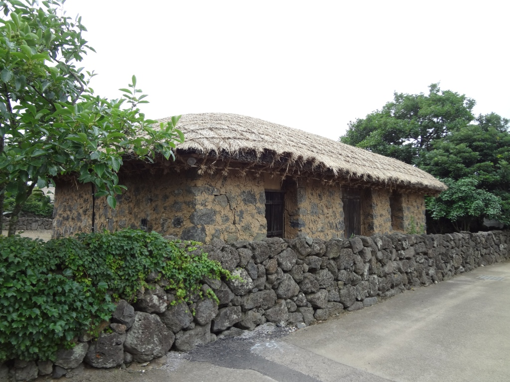 A traditional Jeju house