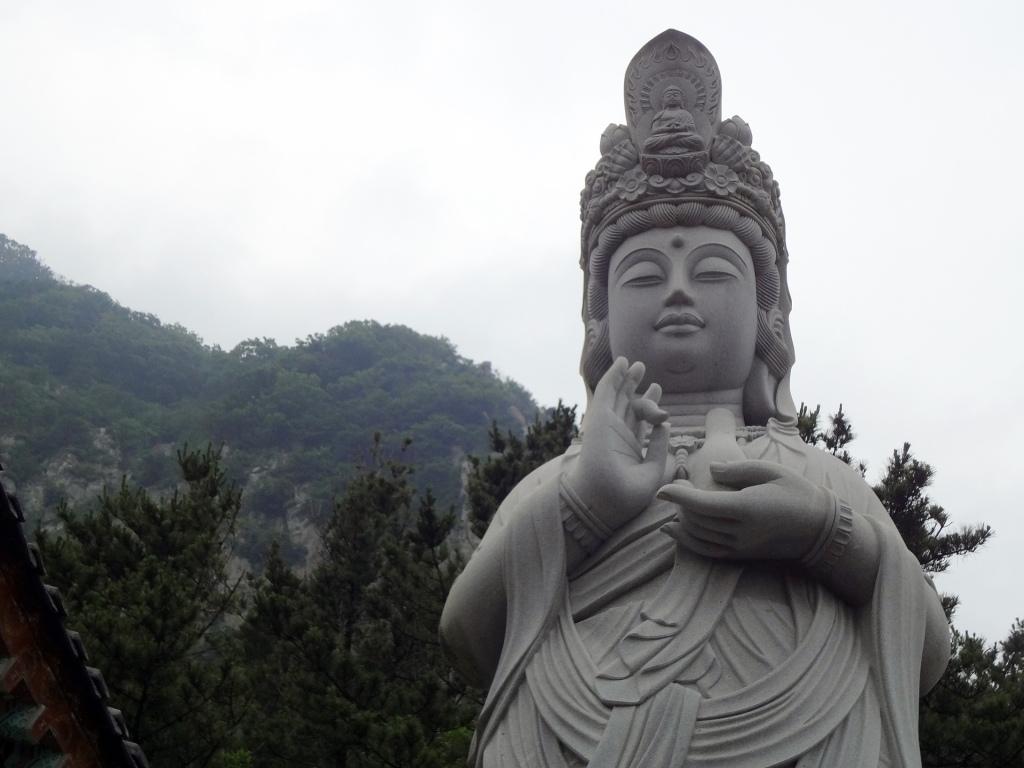 Ohmygod, a female Buddha.